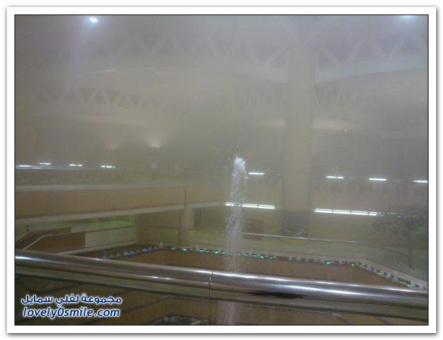 صور ما حدث في مطار الملك خالد الدولي يوم الخميس 22-4-2010