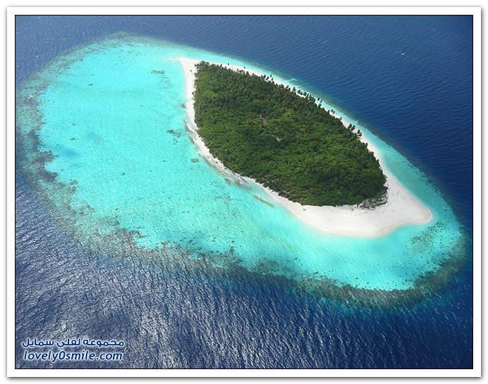 صور رائعة لجزر المالديف