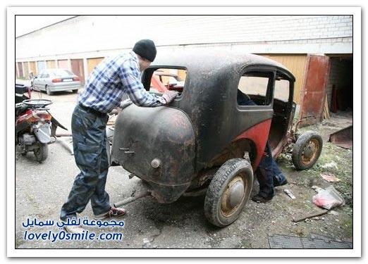 صور: سيارات خارج نطاق الخدمة