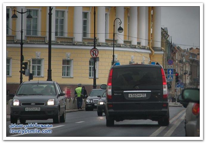 صور: الشرطة السرية أودي ومرسيدس وبي ام دبليو وفولفو