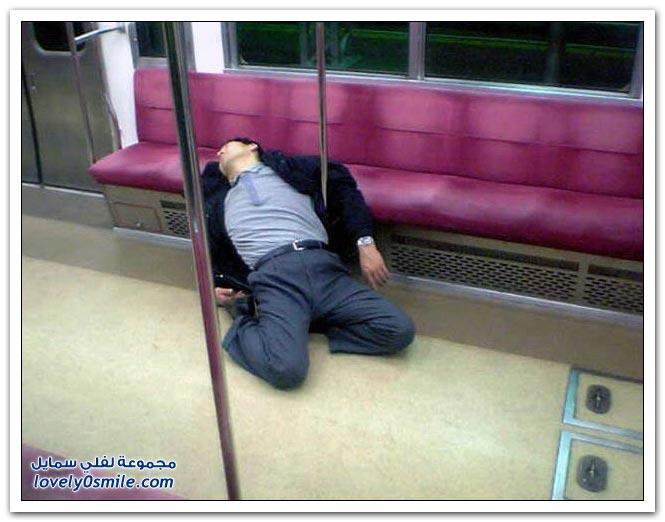 صور: أشكال النوم