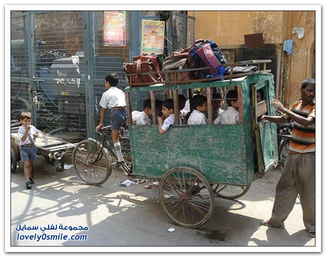 صور لطرق النقل حول العالم