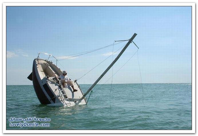 صور قارب عجيب