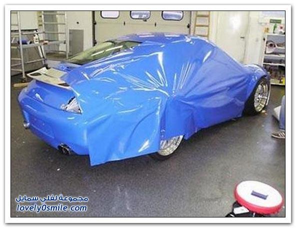 صور أسهل طريقة لتغيير لون سيارتك