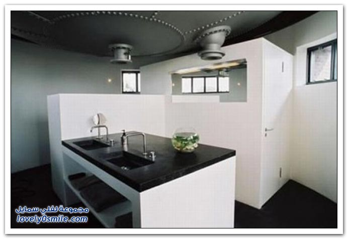 صور منزل في برج مياه