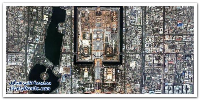 صور من السماء لبعض مدن العالم