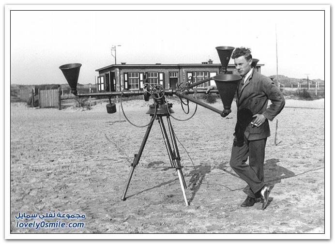 جهاز الكاشف الصوتي أثناء الحرب العالمية الأولى