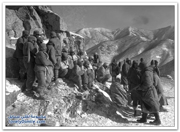 صور قبل 60 عام للحرب الكورية