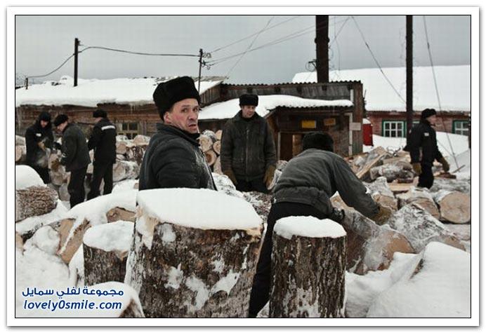 صور من أحد سجون روسيا