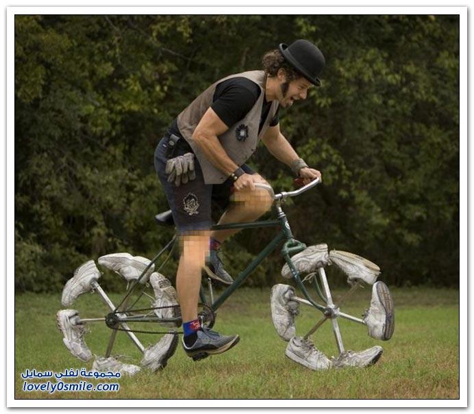 صور أكثر الدراجات غرابة