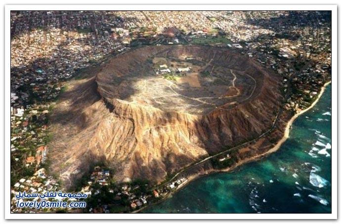 صور من بركان هونولولو في هاواي