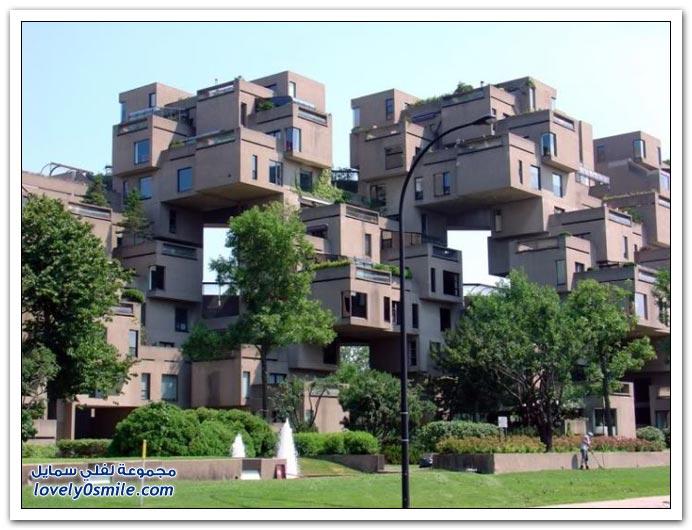 صور بنايات عجيبة في كندا