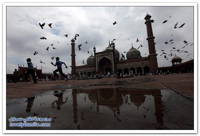 صور من أنحاء العالم لرمضان 2010