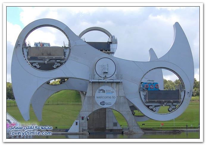 صور من عجلة فولكيرك في اسكوتلندا
