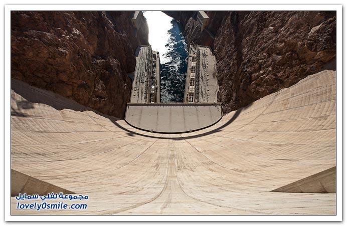صور: من أضخم السدود في العالم سد هوفر