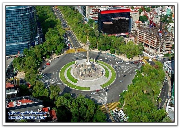 صور جوية مذهلة من مكسيكو سيتي