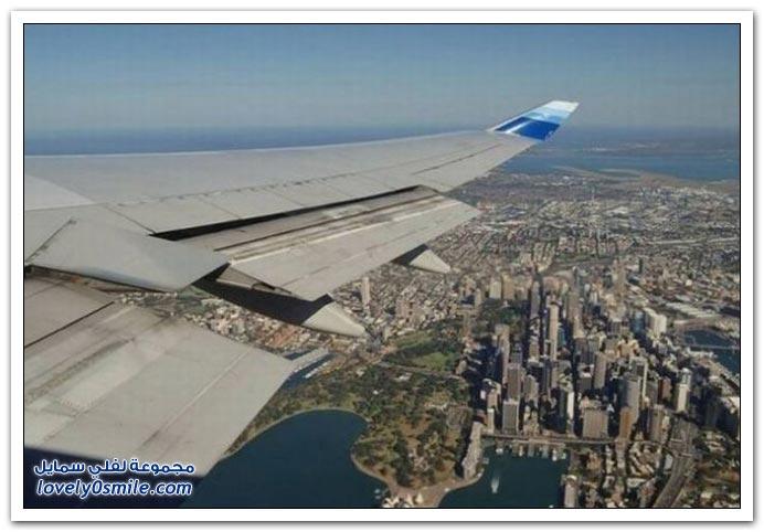 صور من الطائرة