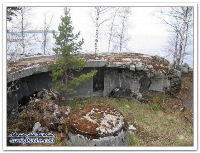 قبو لرمي القنابل من الحرب العالمية الثانية في روسيا