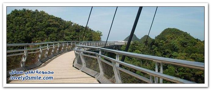 صور: من أشهر الجسور السياحية في ماليزيا