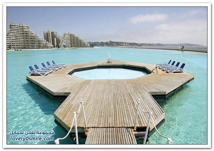 أكبر مسبح في فندق
