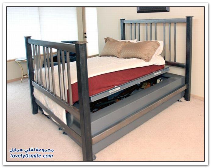 صور: مخبأ السرير