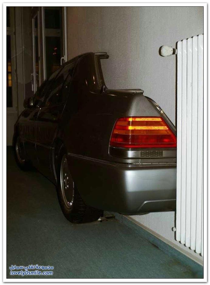 صور سيارة على جدار , شكله مغرم بالمرسيدس
