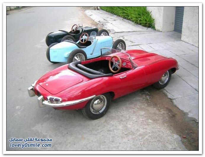 سيارات رائعة للأطفال