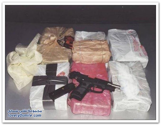 صور طرق تهريب المخدرات في المكسيك