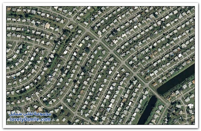 صور مسطحات بشكل فني في جوجل صورت في فلوريدا