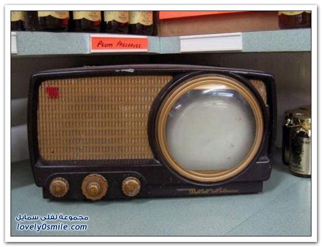 أجهزة كهربائية قديمة