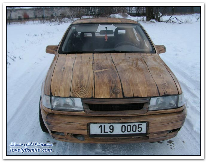 صور سيارة خشبية Vectra