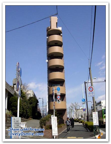 صور عمارات عجيبة في اليابان
