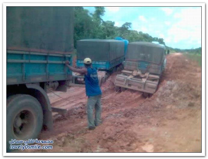 صور أسوء الطرق في البرازيل