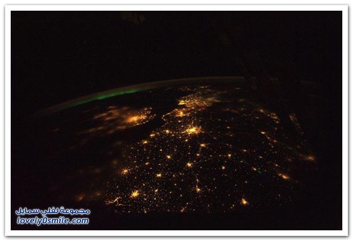 صور من الفضاء منها البحر الأحمر ونهر النيل