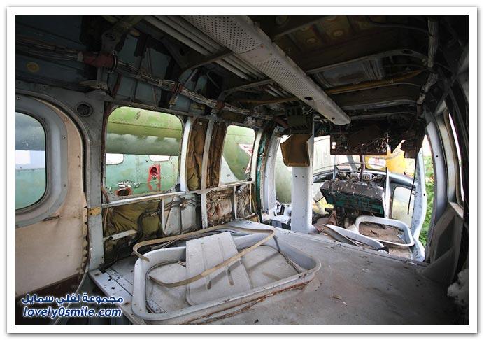 مقبرة طائرات الهيلوكبتر في روسيا