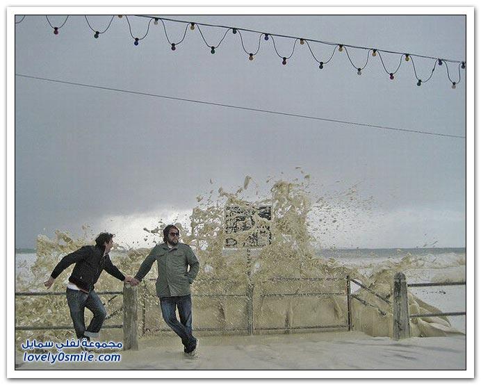 صور ظاهرة زبد البحر في جنوب أفريقيا