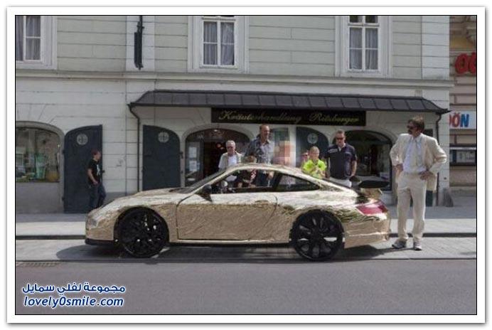 سيارة بورش تصميم منزلي