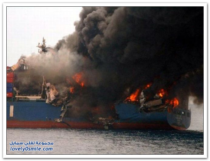 صور حوادث سفن وشاحنات النقل البحري ج2
