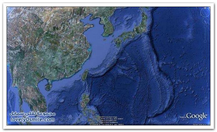 تحديد باتمان في اليابان عن طريق جوجل ايرث