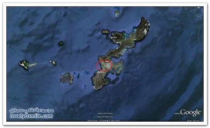 صور: تحديد باتمان في اليابان عن طريق جوجل ايرث