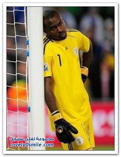 صور الحارس الأكثر هدوء في كأس العالم 2010