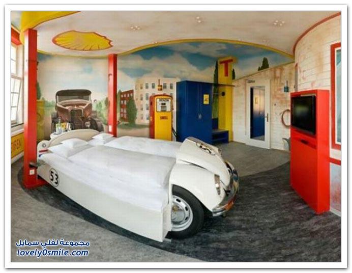 فندق سيارة شتوتغارت في ألمانيا