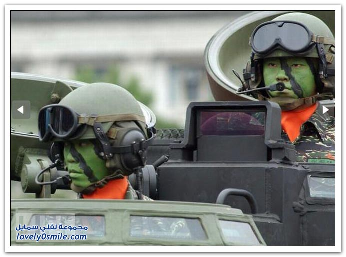المسيرة العسكرية لبعض بلدان العالم