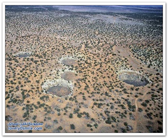 صور حفر وتصدعات أرضية حول العالم