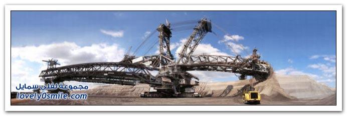 صور أكبر آلة حفر في العالم