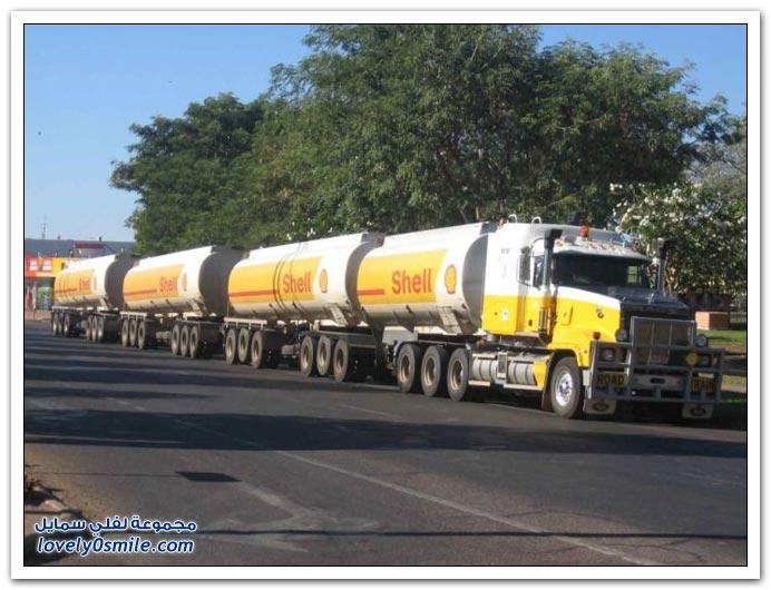 طريق الشاحنات