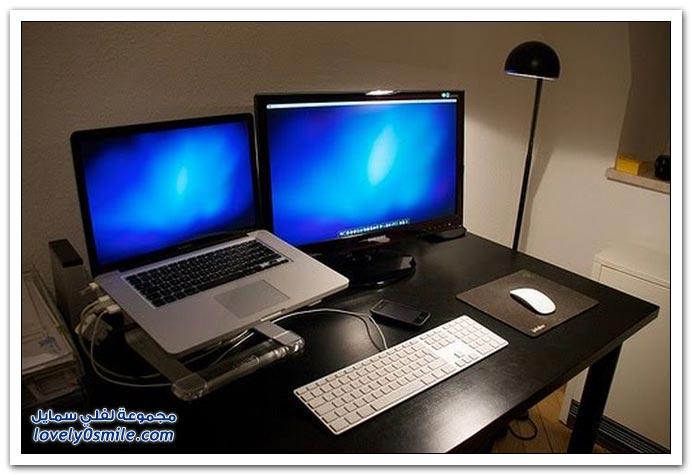 مجموعة من المكاتب البسيطة والرائعة