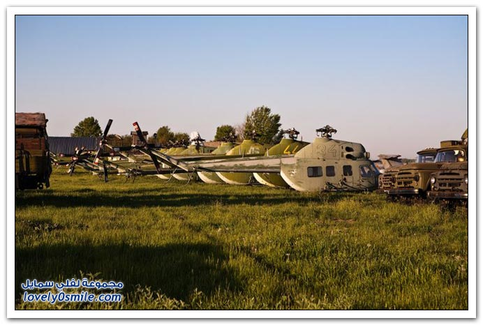 صور أحد المطارات السوفيتية المهجورة في أوكرانيا