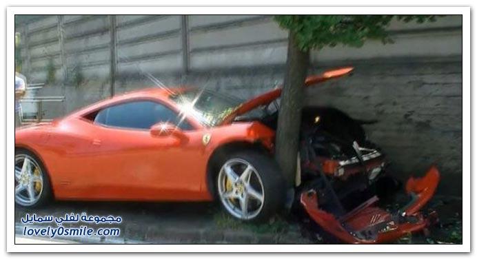 صور حادث فراري