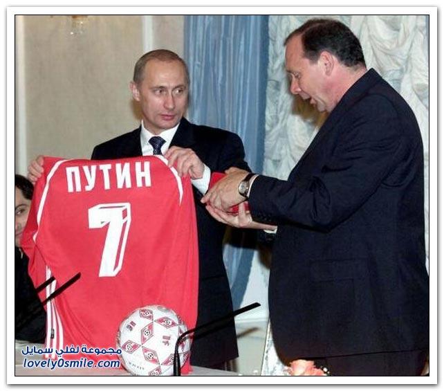 صور رئيس الوزراء الروسي فلاديمير بوتين وحبه للرياضة